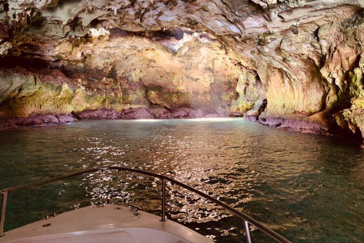 Tour delle grotte - Escursioni in barca a Polignano a Mare